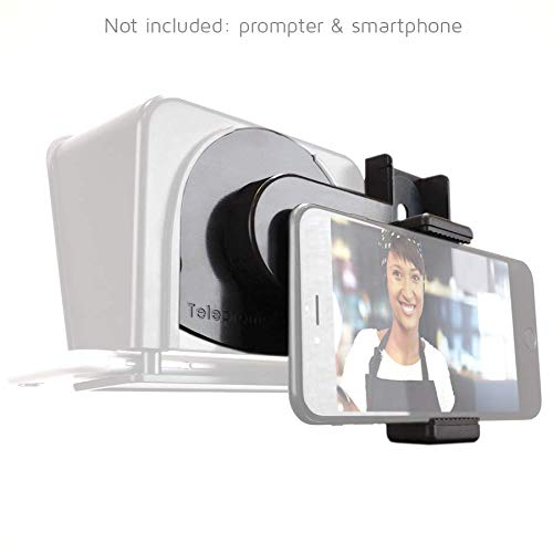 TP-Smartclip Accessory for Parrot teleprompter 1 & 2 [Prompter not Included]. Record Video with Your Smartphone on a Parrot Teleprompter by TELEPROMPTER PAD