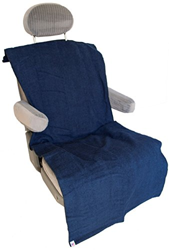 Soaked Or Dirty Athletes (SODA) Standard Seat Cover - Absorbent, Waterproof, Machine Wash & Dry, Bucket or Bench Seat, Made in USA ()