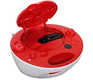 Sony CD Boombox with Digital AM/FM Tuner (Red)
