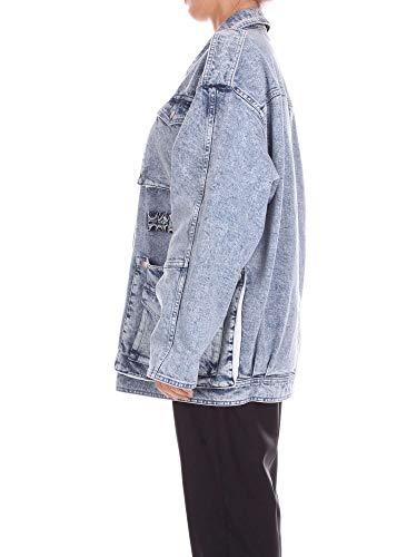 Stella Femme Coton 509680skh304961 Blouson Mccartney Bleu rr4YwUq