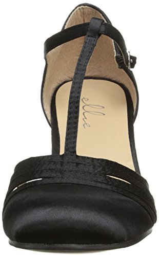 Ellie Shoes Women's 254 Lucille Dress Sandal, Black, 9 M US