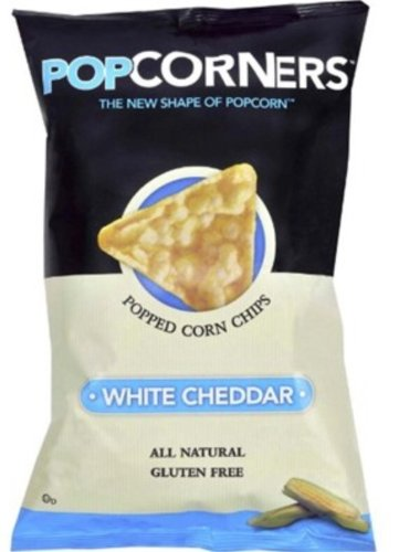 Popcorners - Popped Corn Chips Variety (White Cheddar (Pack of 2))