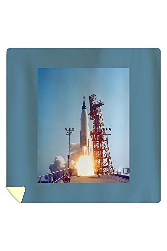 Project Mercury MA-9 Launch, Faith 7 Photograph (88x88 Queen Microfiber Duvet Cover) by Lantern Press
