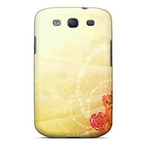Scotansen Design High Quality Stone Roses Artistic Cover Case With Excellent Style For Galaxy S3