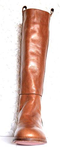 Tony Mora - Botas plisadas Mujer Marrón - marrón
