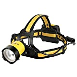 totobay Headlamp Brightest LED Headlight, Waterproof Flashlight with 90º Moving Zoomable Light Adjustable Headband,Best for Camping Running Hiking