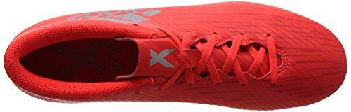adidas X 16.4 Fxg, Botas de Fútbol para Hombre Rojo (Rojsol / Plamet / Roalre)