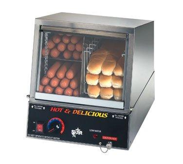 Star Hot Dog Steamer w/Juice Tray - 35SSA