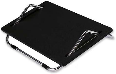 Safco Ergo-Comfort Adjustable Footrest 18-1//2w x 11-1//2d x 8h Black 2106