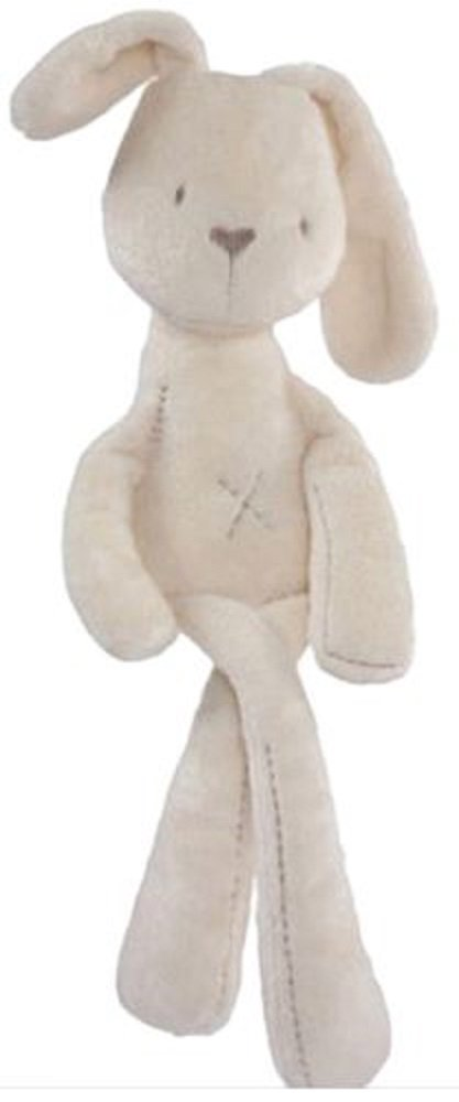 Soft Plush Snuggly Bunny Natural Cotton /& Natural Color Generic