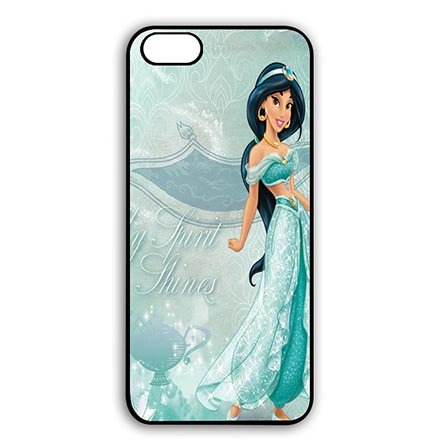 Black Case Cover for iPhone 6 PLUS - iPhone 6S PLUS(5.5 Inch Screen) Aladdin Jasmine - Customize New design - Phone Mobile Levis