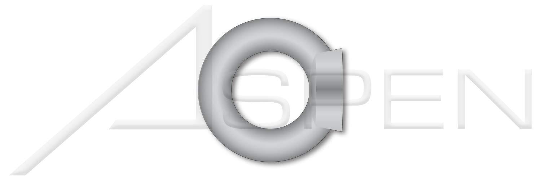 (16 pcs) M10-1.5, DIN 582, Metric, Lifting Ring Eye Nuts, C15 Steel, Drop Forged