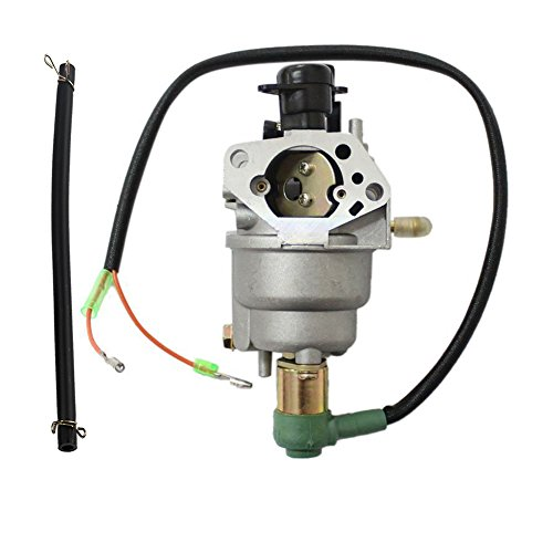 HIPA Carburetor with Solenoid and Hose Tube for HONDA GX390 13hp Generator