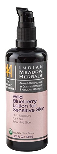 Indian-Meadow-Herbals-Wild-blueberry-lotion-for-sensitive-skin-USDA-Certified-332floz100ml