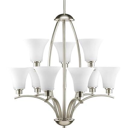 Amazon.com: Joy Nueve – Lámpara de techo de luz en níquel ...