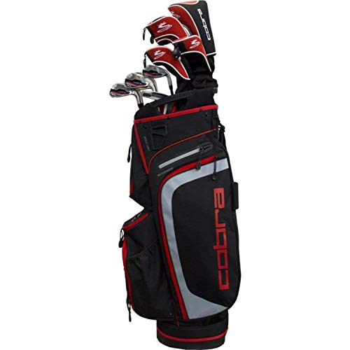 Cobra 2018 XL Complete Set Red (Men's, Right Hand, Graphite, Reg Flex) Review