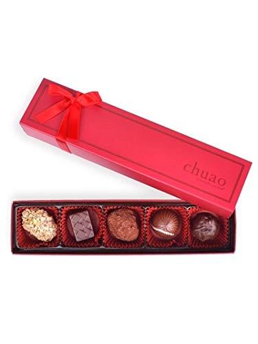 Bonbon Collection - Chuao Chocolatier Chef's Favorites Bonbon Collection Gift Set - Best-Selling Chocolate - Gourmet Artisan Milk & Dark Chocolate - Free of Artificial Flavors (5 Piece)