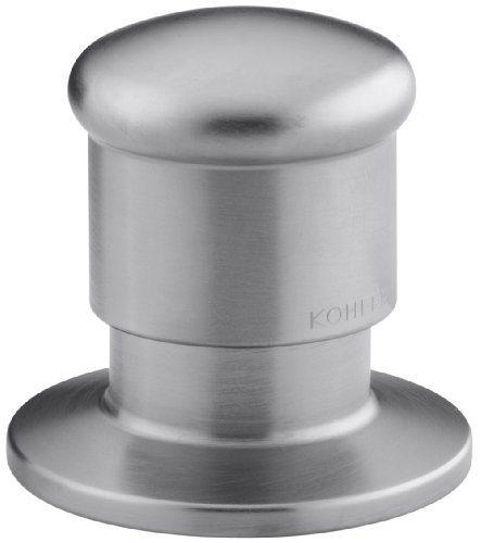 KOHLER K-9530-G Deck Mount Two-Way Diverter Valve, Brushed Chrome by Kohler