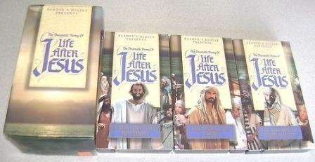 Dramatic Reader - Reader's Digest Presents: The Dramatic Story of Life After Jesus (Three VHS Video)