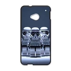HTC One M7 Cell Phone Case Black Star Wars sir
