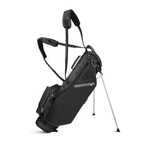 Sun Mountain 2017 Front 9 (No Logo) Stand Bag - Black - CLOSEOUT
