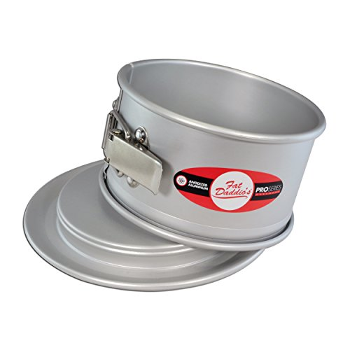 Fat Daddio's Anodized Aluminum 6 Inch x 3 Inch Round Springform Cake Pan by Fat Daddios (Image #3)