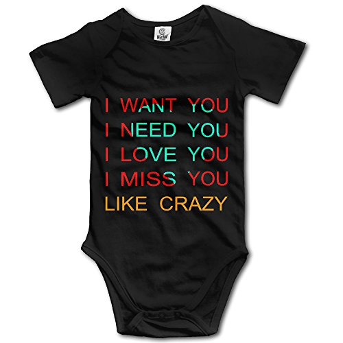 GUC Anton Yelchin Crazy Toddler Bodysuit Romper Black 6 - Korina Body