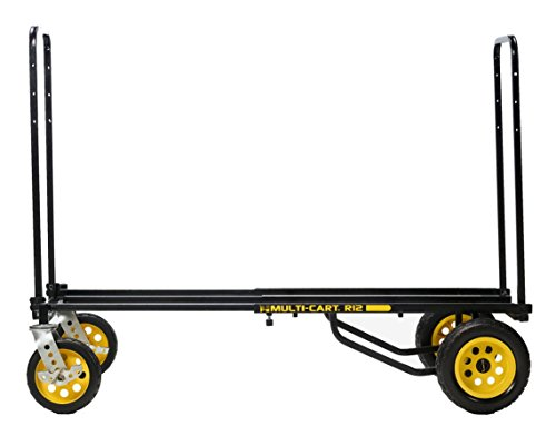 Rock-N-Roller R12RT (All Terrain) 8-in-1 Folding Multi-Cart/Hand Truck/Dolly/Platform Cart/34