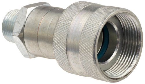 Dixon 30-300 Steel Hydraulic Quick-Connect Fitting, Coupler, 3/8