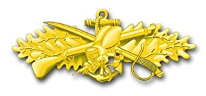 """US Navy New Sea Bee Decal Sticker 5.5"""" by Vinyl USA"""