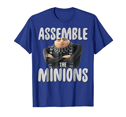 Despicable Me Minions Assemble The Minions Graphic T-Shirt]()