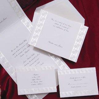 Birchcraft Wedding Invitations.Amazon Com Birchcraft Wedding Invitations T3309 Qty 100