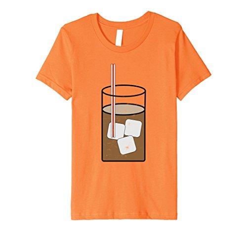 Ice Cream Sundae Adult Costumes (Kids Sweet Tea Y'all Southern Halloween Costume Outfit T Shirt 6 Orange)