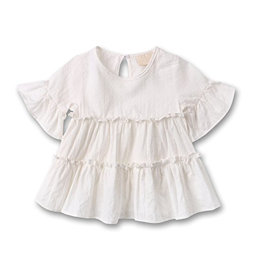 Buy hand crochet baby dresses - 9