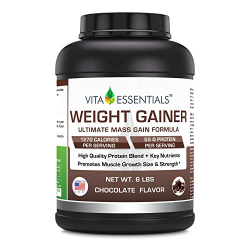 Vita Essentials Weight Gainer, Chocolate Flavor, 6 Pound