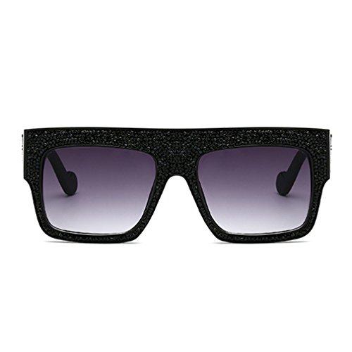 Nuevo Gafas Gran Marco Cool De Hombres Moda De Tamaño De Lujo Rhinestones Grande Sol Las Tide Señoras Mujeres Gafas C1 Unisex De UCq0vv