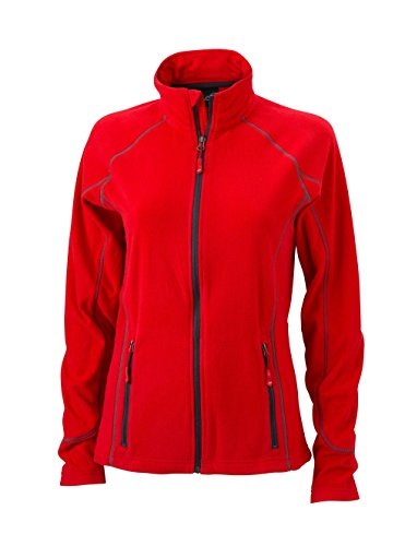Chaqueta de lana outdoor ligero Chaqueta Mujer Red/Carbon