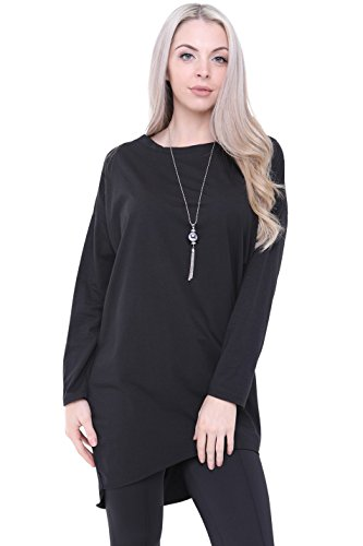 London Pull Unique Aftershock Noir Femme Taille HS7nnxPwq