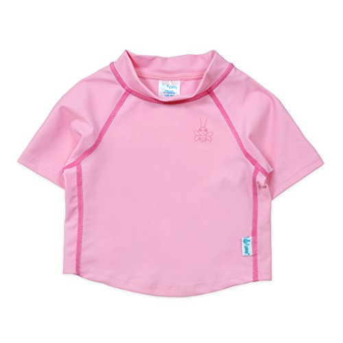 i play. Kids & Baby Short Sleeve Rashguard Shirt, Light Pink, 12mo ()