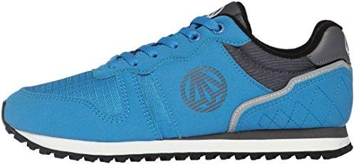 Paperplanes-1181 Unisex Causale Kamp Wandelen Sneakers Schoenen Blauw Grijs