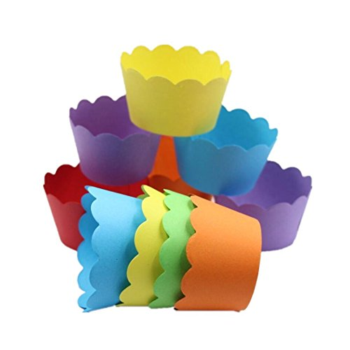 Mybbshower Count Scalloped Cupcake Wrappers product image