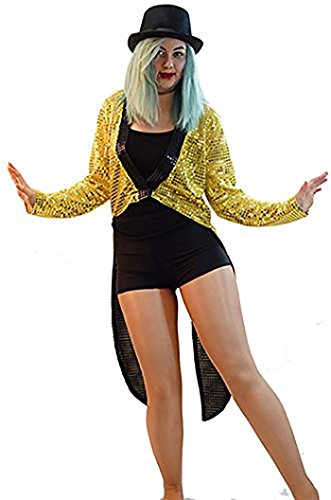 Halloween-Fancy Dress-Columbia-Rocky Horror MAD TAP DANCER 3 PIECE SET - From Ladies Sizes 10-20 (LADIES (Tap Dancer Halloween Costumes)