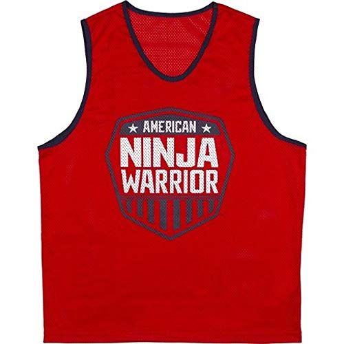 American Ninja Warrior Kids Birthday Pullover Team Jerseys Set 1 Red 1 Blue