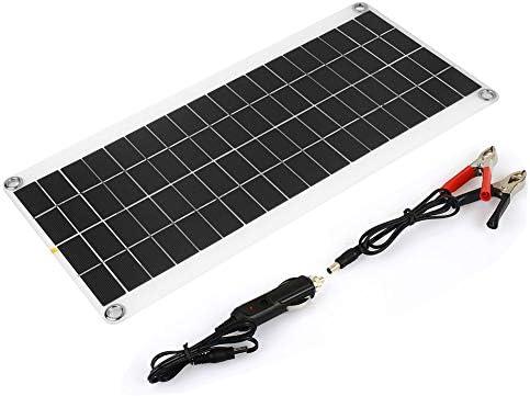 Haihuic 15W 12-18V Solarmodul Photovoltaik PV Solarpanel Polykristalline Solarzelle Wohnmobil Marine-Boot Aus dem Gitter