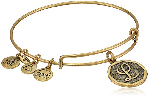 Gold Charms For Charm Bracelets - Alex and Ani Rafaelian Gold-Tone Initial
