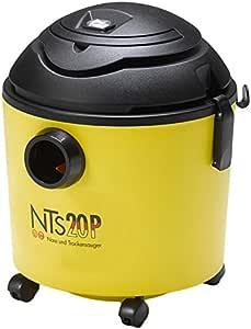 GISOWATT NTS 20P - Aspiradora en seco y húmedo, 1100 W, color negro y amarillo: Amazon.es: Hogar