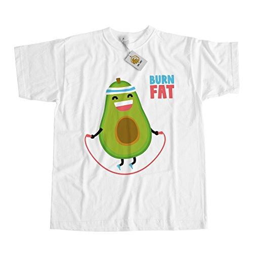 Vegan Workout Shirt - Avocado Burn Fat