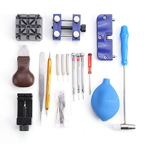 1 lot 124Pcs Watch Repair Tool Watchmaker Kit For Changing Watchband Opening Watchcase Tools Set