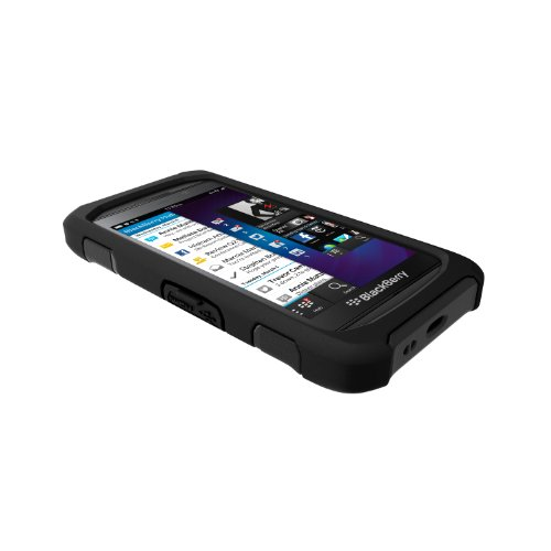 Trident Case AEGIS Series Protective for BlackBerry Z10/Surfboard/London - Retail Packaging - Black