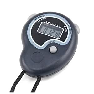SODIAL(R) Cronometro Digital de Mano Deportivo con Despertador